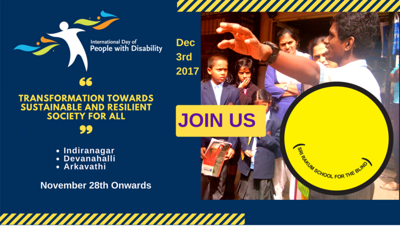 International Day of People with Disability - Activities Invite